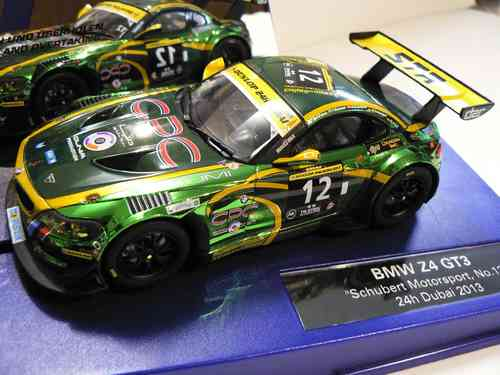 BMW Z4 GT3 Schubert Motorsport No. 12 24h Dubai 2013