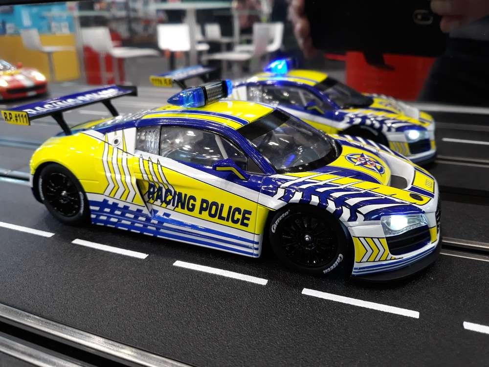 Audi R8 Lms Carrera Racing Police 23880